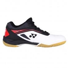 尤尼克斯YONEX SHB65ZMEX 男款羽毛球鞋 白红 减震防滑 耐磨透气
