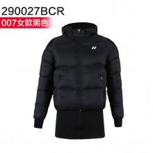 尤尼克斯YONEX男女羽绒服 轻质羽绒 保暖舒适 190027/290027