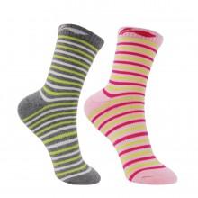 李宁 女款羽毛球袜 长筒运动袜 透气舒适 包裹设计 两色可选 AWSL044-1/-2