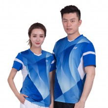 尤尼克斯 YONEX 男女羽毛球服 运动T恤 轻盈透气 110157 210157