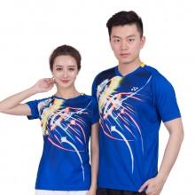 尤尼克斯 YONEX 男女羽毛球服 速干时尚 110267 210267 蓝
