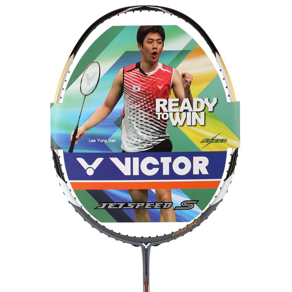 胜利威克多victor 亮剑10羽毛球拍 (brs-10)破风拍框