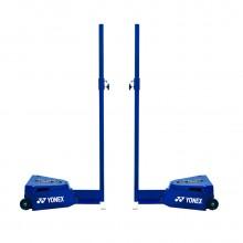 尤尼克斯YONEX AC355EX 羽毛球网柱 标准移动式 比赛网架柱