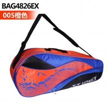 尤尼克斯YONEX 六支装羽毛球包 BAG4826EX 多功能运动包 单肩背包