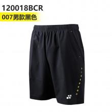 尤尼克斯 YONEX 男女羽毛球裤 运动短裤 120018/220018BCR