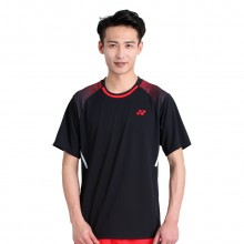尤尼克斯YONEX 110048BCR 男款羽毛球服 透气速干 2018新款