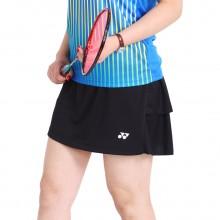 尤尼克斯YONEX 女款羽毛球裤裙 运动裤裙 220038BCR 安全裤设计
