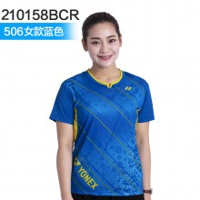 尤尼克斯 YONEX 男女羽毛球服 透气速干 2018新款 110158/210158BCR