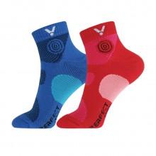 胜利 VICTOR 男女款羽毛球袜 运动袜 短袜 透气 包裹设计 SK142/242