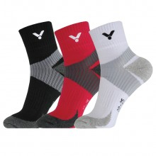 胜利 VICTOR 男女款羽毛球袜 运动袜 短袜 透气 包裹设计 SK139 SK239