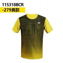 尤尼克斯 YONEX男女羽毛球服 透气速干 115318/215318