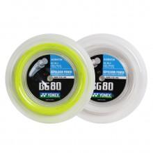 尤尼克斯YONEX BG80 羽毛球线 大盘线 高速扣杀 高反弹性 高性价比