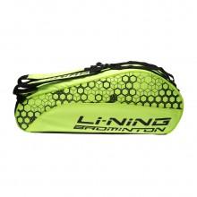 李宁6支羽毛球包 ABJN018 独立鞋袋设计 大容量