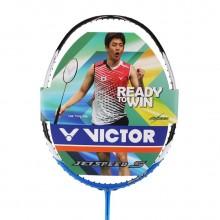 VICTOR胜利亮剑12羽毛球拍 李龙大蓝色河畔的王者之歌BRS-12【特卖】