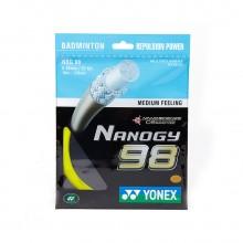 YONEX尤尼克斯 羽毛球线 NBG98 敏锐的击球手感 高弹型羽线
