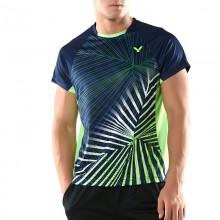 胜利VICTOR T-80008B 男款羽毛球服 运动T恤 吸汗速干