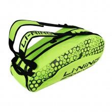 李宁6支羽毛球包 ABJN018 独立鞋袋设计 大容量 2018新款