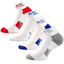 亚狮龙 RS-2946 运动袜 羽毛球袜 短袜 吸汗舒适 耐磨设计