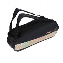 李宁6支装羽毛球包 ABJN098 独立鞋袋设计 谌龙签名版