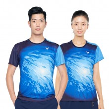胜利VICTOR 马来西亚队大赛服TD版 男女羽毛球服 T-91002TD 90002TD