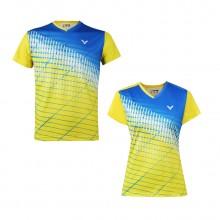 胜利VICTOR 男女羽毛球服 运动短袖 T-91012 T-90012吸汗速干