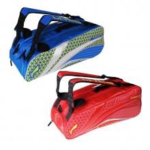 李宁 ABJM116 六支装羽毛球包 独立鞋袋设计