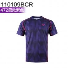 尤尼克斯 YONEX男女羽毛球服 运动T恤 110109BCR/210109BCR