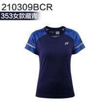 尤尼克斯 YONEX男女羽毛球服 运动T恤 110309BCR/210309BCR 2019新款