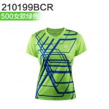 尤尼克斯 YONEX男女羽毛球服 运动T恤 110199BCR/210199BCR 2019新款