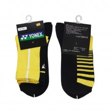 尤尼克斯YONEX 男款羽毛球袜运动袜 舒适透气145109BCR