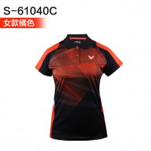 胜利VICTOR 男女羽毛球服 马来西亚大赛服TD版S-6004 6104【特惠清仓】