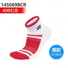 尤尼克斯YONEX 男女羽毛球袜运动袜 舒适透气145069BCR 245069BCR