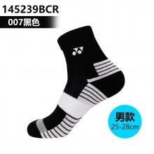 尤尼克斯YONEX 男女羽毛球袜运动袜 舒适透气145239BCR 245239BCR