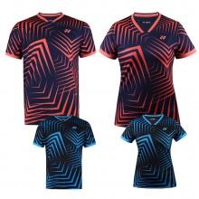 尤尼克斯YONEX 男女羽毛球服 运动T恤 110599BCR 210599BCR