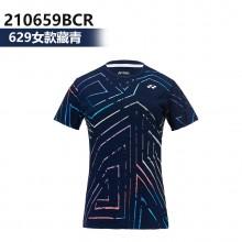 尤尼克斯YONEX 男女羽毛球服 运动T恤 110659BCR 210659BCR