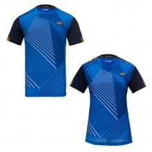 尤尼克斯YONEX 男女羽毛球服 运动T恤 110369BCR 210369BCR