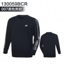 尤尼克斯 YONEX 男女运动卫衣 长袖T恤 130059BCR/230059BCR