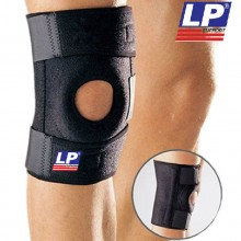 LP护具 双弹簧支撑型膝关节护具 LP733 登山篮球羽毛球运动专业护膝