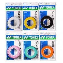 尤尼克斯 YONEX AC102手膠 三條裝黏性手感超值柄皮 李宗偉使用