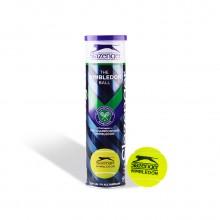 史莱辛格Slazenger 网球 4粒装 温网比赛筒装训练网球