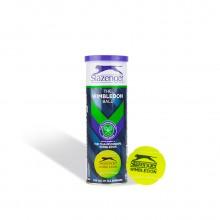 史莱辛格Slazenger 网球 3粒装 温网比赛筒装训练网球