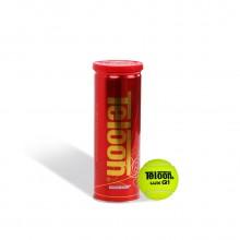 天龙Teloon 网球 Q1 罐装 耐打高弹力 比赛用球