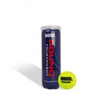 天龙Teloon 网球 P3 罐装 耐打高弹力 比赛用球