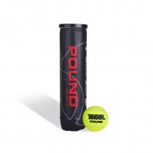 天龙Teloon 网球 P4 罐装 耐打高弹力 比赛用球