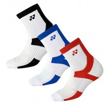 尤尼克斯YONEX 男女羽毛球袜运动袜 舒适透气145209BCR 245209BCR