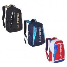 李宁 ABSQ088 双肩背包 羽毛球包 大容量 三色可选