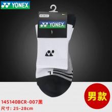 YONEX尤尼克斯羽毛球袜男女运动袜中筒短筒加厚透气棉袜145140BCR