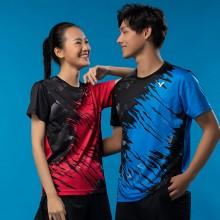 2021新款胜利VICTOR男女羽毛球服T-10000TD/11000TD马来西亚队大赛服推广版