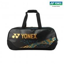 2021新款尤尼克斯YONEX BA92031WEX 羽毛球包 大容量矩形包 驼金色
