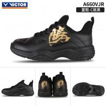 2021新款威克多VICTOR A660VJR儿童羽毛球鞋 胜利青少年训练鞋童鞋